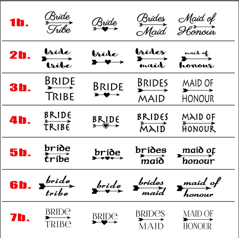 BrideTribeSet