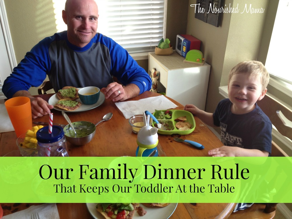Our Family Dinner Rule.jpg