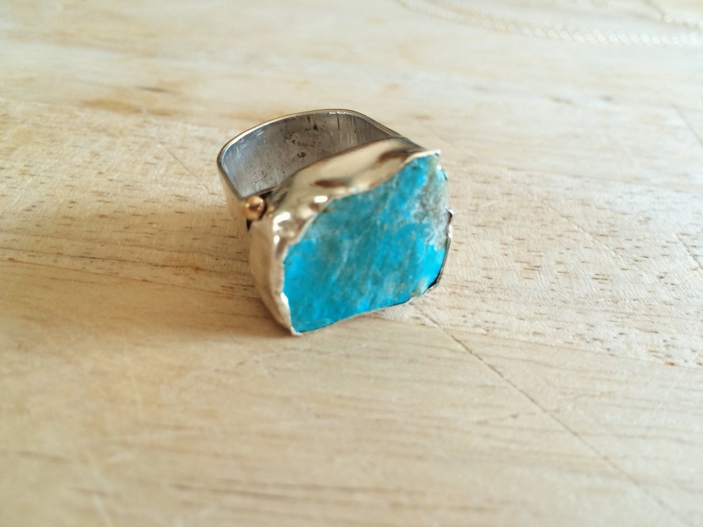 kingman arizona raw turquoise