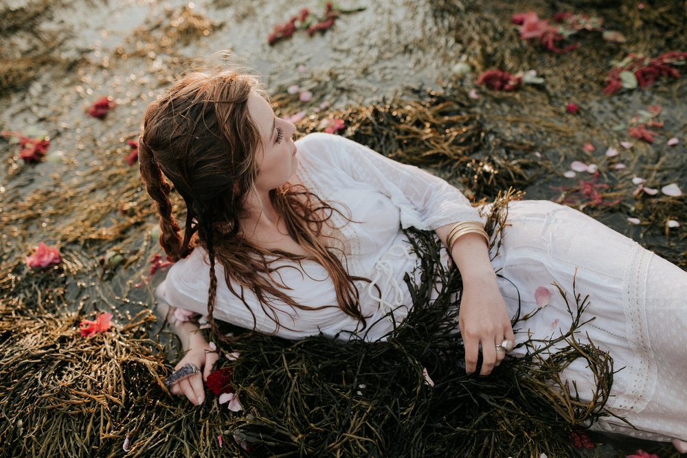 fort gorges maine . wedding style photoshoot loving anvil jewelry