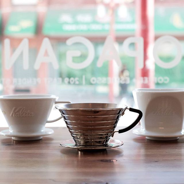 Kalita products are now in stock. Wave and Hasami brewers for sale!