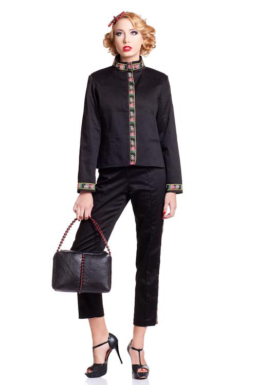 34f5de824d3 Black Blume Suit Jacket — Vilorija by Jelena Vujanovic