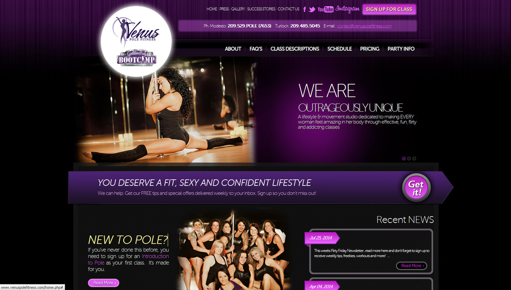 Venus Pole Fitness