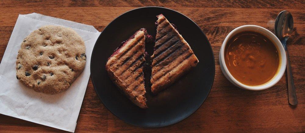 Cookie + Sandwich + Soup