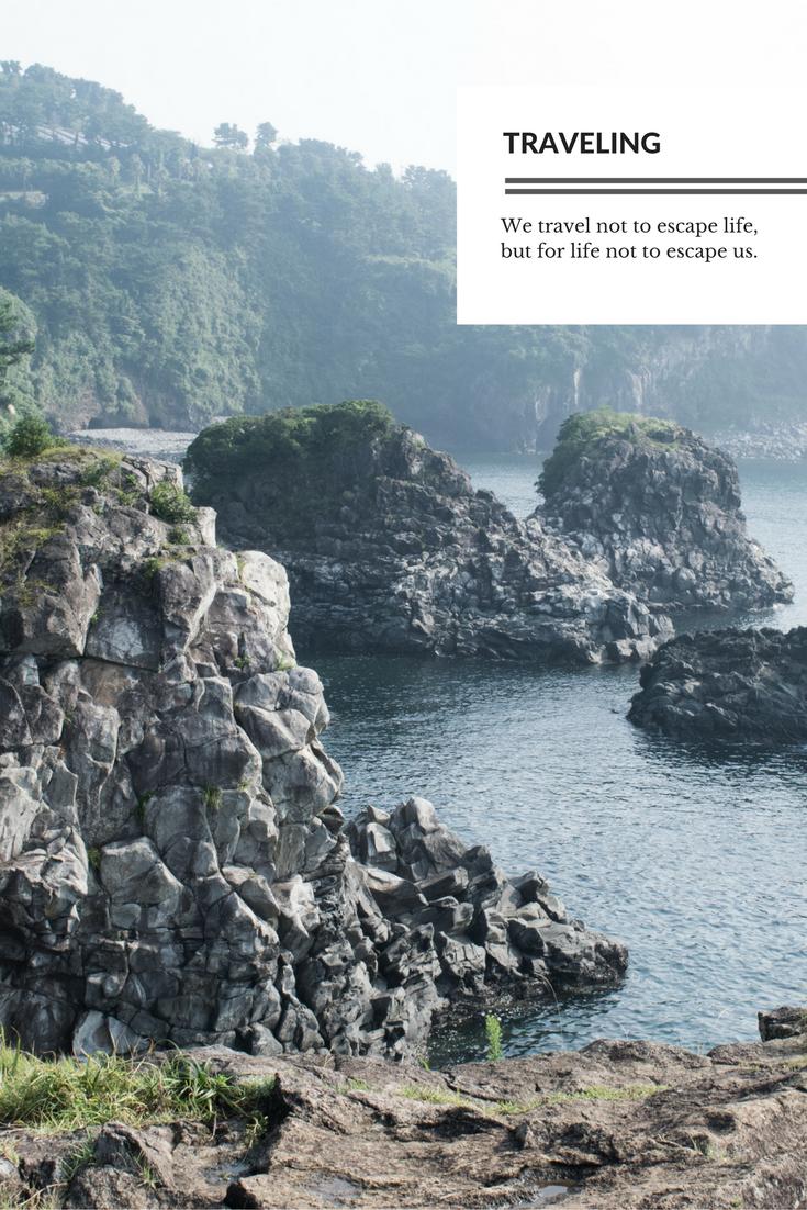 Traveling, Jeju Island