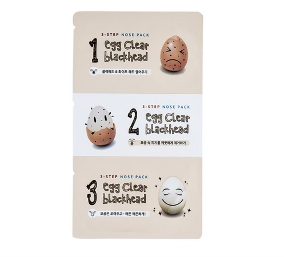 Egg Clear Blackhead 3-step