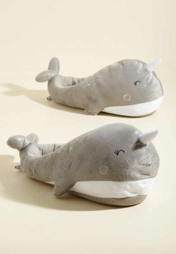 Sea-son to Snuggle USB Foot Warmers, Modcloth $40