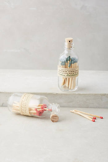 Jar of Matches, Anthropologie $10