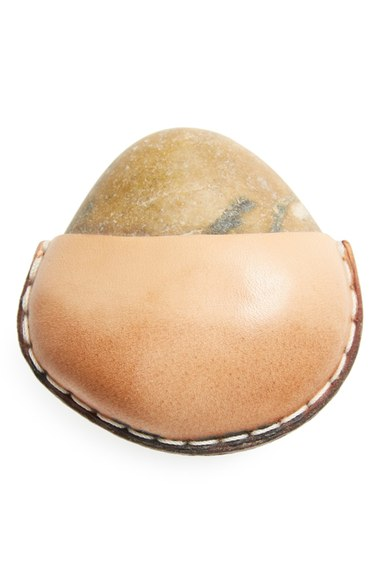 Made Solid Leather Wrapped Rock, Nordstrom $65