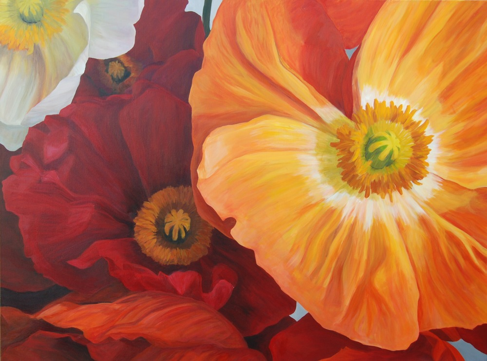 """Radiant Poppies"""