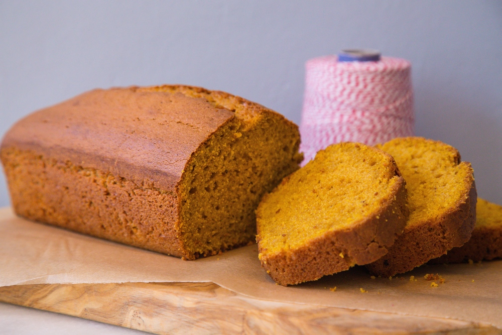 Pumpkin Olive Oil Loaf / Photo by Eric Vitale Photography