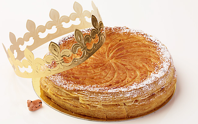 Galette des Rois at Dominique Ansel.  Photo by: Thomas Schauer