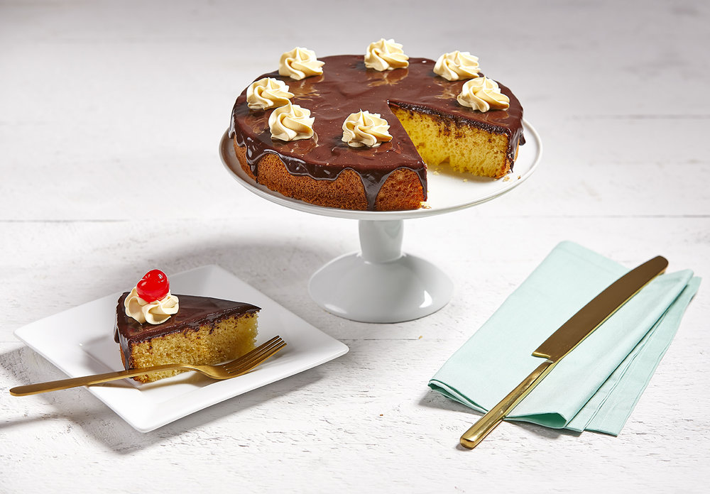 Boston Creme Cake