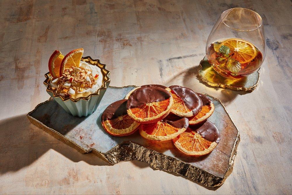 Dehydrated Orange Trio