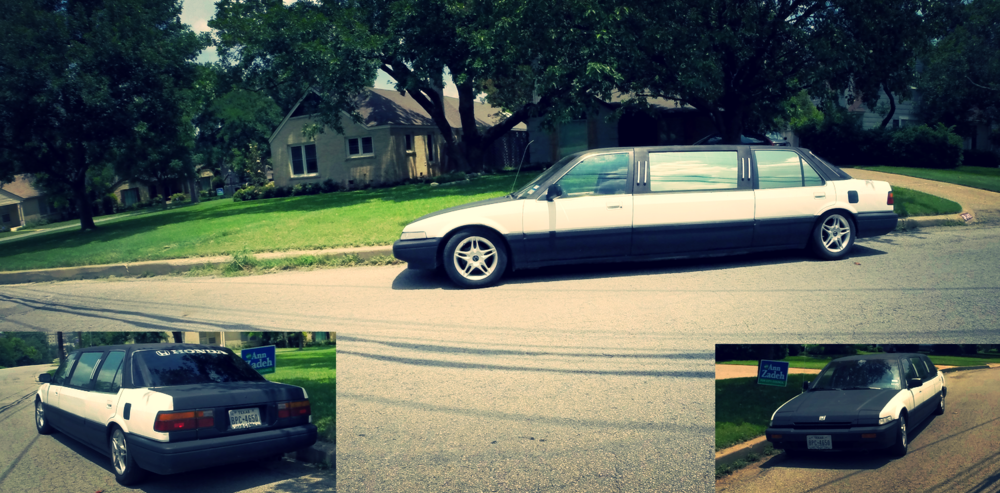 Oh, you didn't know about the Honda Accord limo conversion kit? Me either.