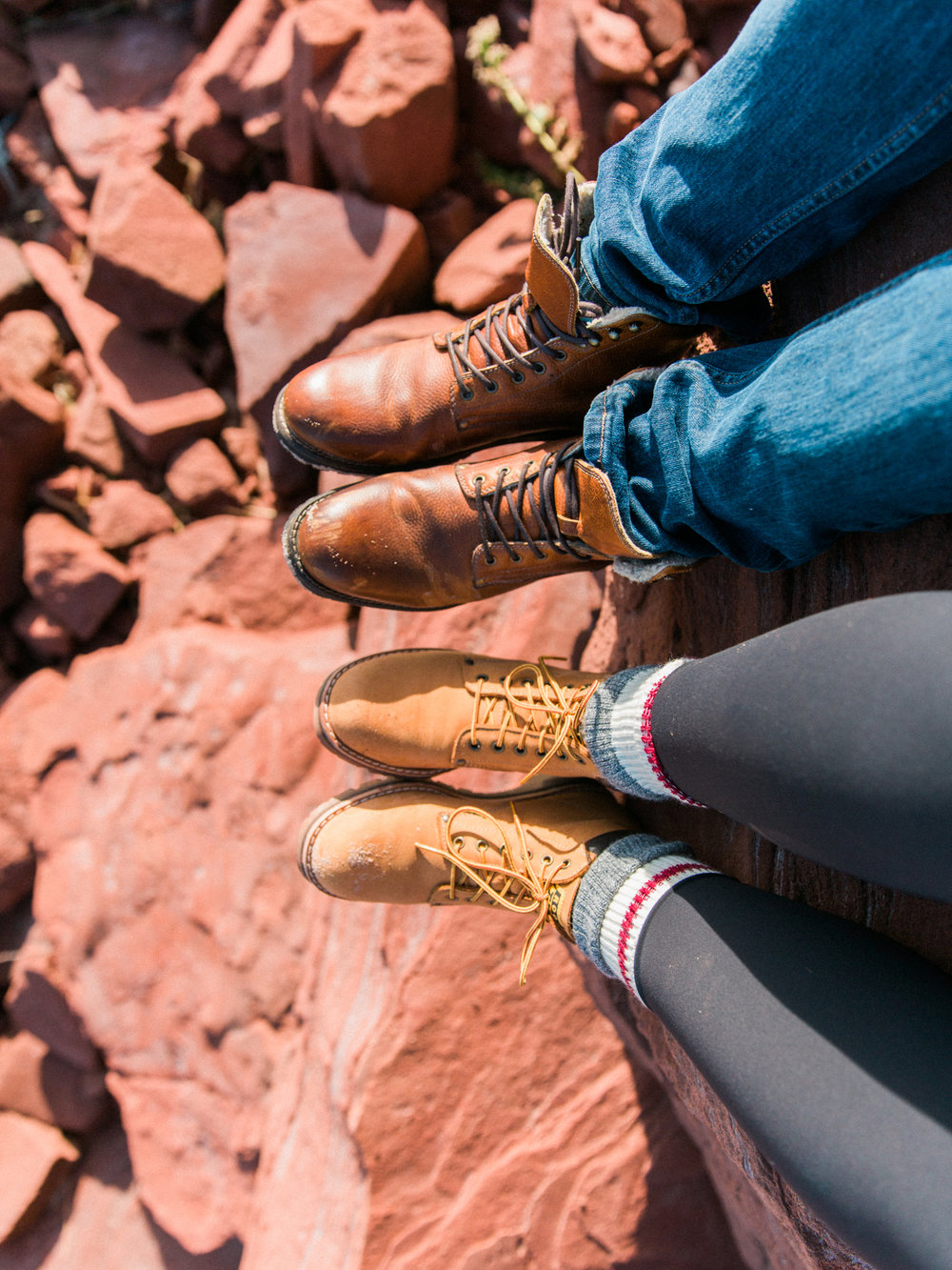 This was my favourite moment of the weekend. I climbed up to sit with Amir and looking out at the ocean together was so peaceful, but most importantly these boots looked great at this angle (haha!) Side note: Roots - if you are looking for a brand ambassador I am definitely available for that role!