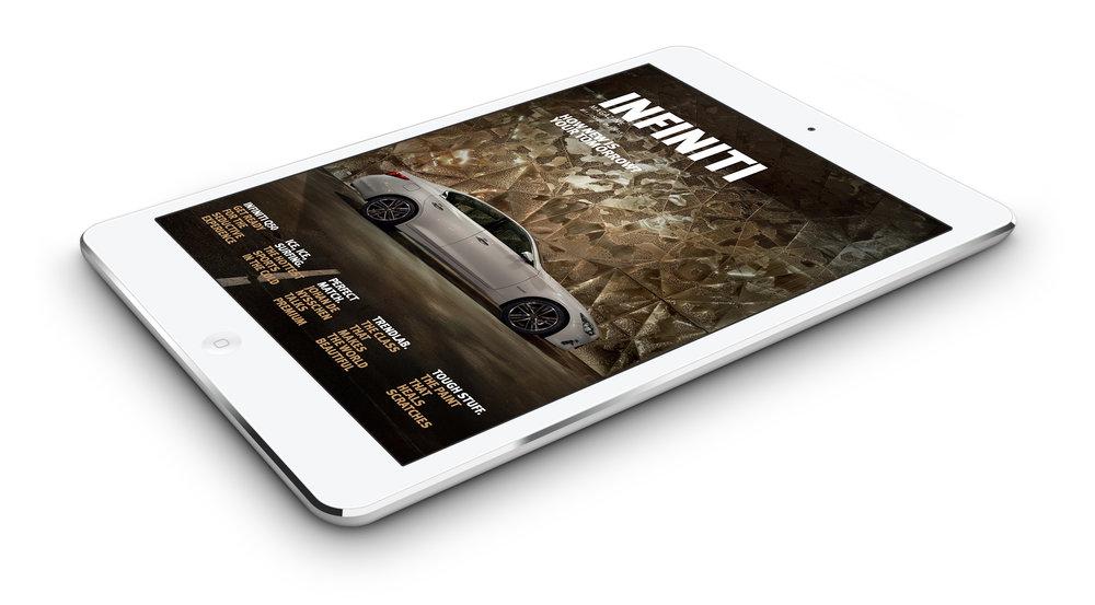 Infiniti Magazine iPad App