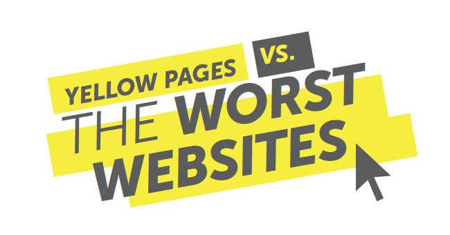Yellow Pages vs. The Worst Websites: Digital Campaign