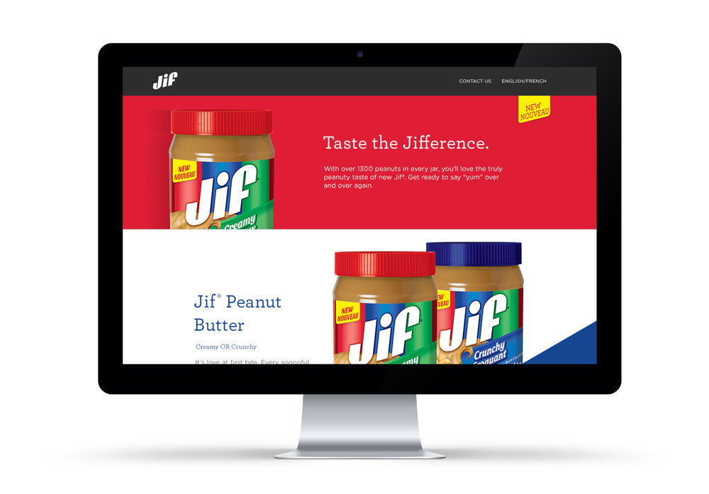 JIF Website Design