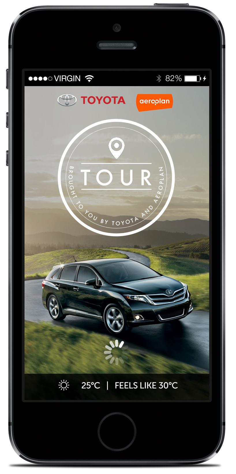 Toyota Tour App