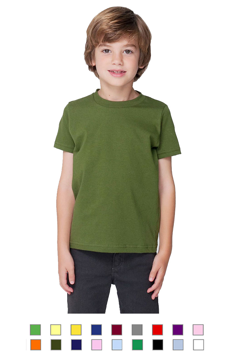 AA2105 -Kids Fine Jersey Short Sleeve T [$14.50]