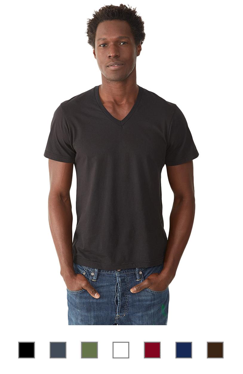 AA1032 -Mens 3.oz Basic V-neck [$15.00]