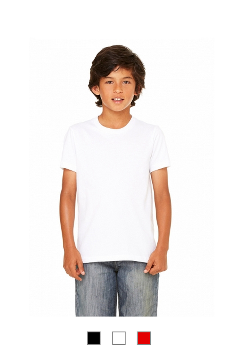 BC3001Y -Youth Jersey Tee [$13.00]