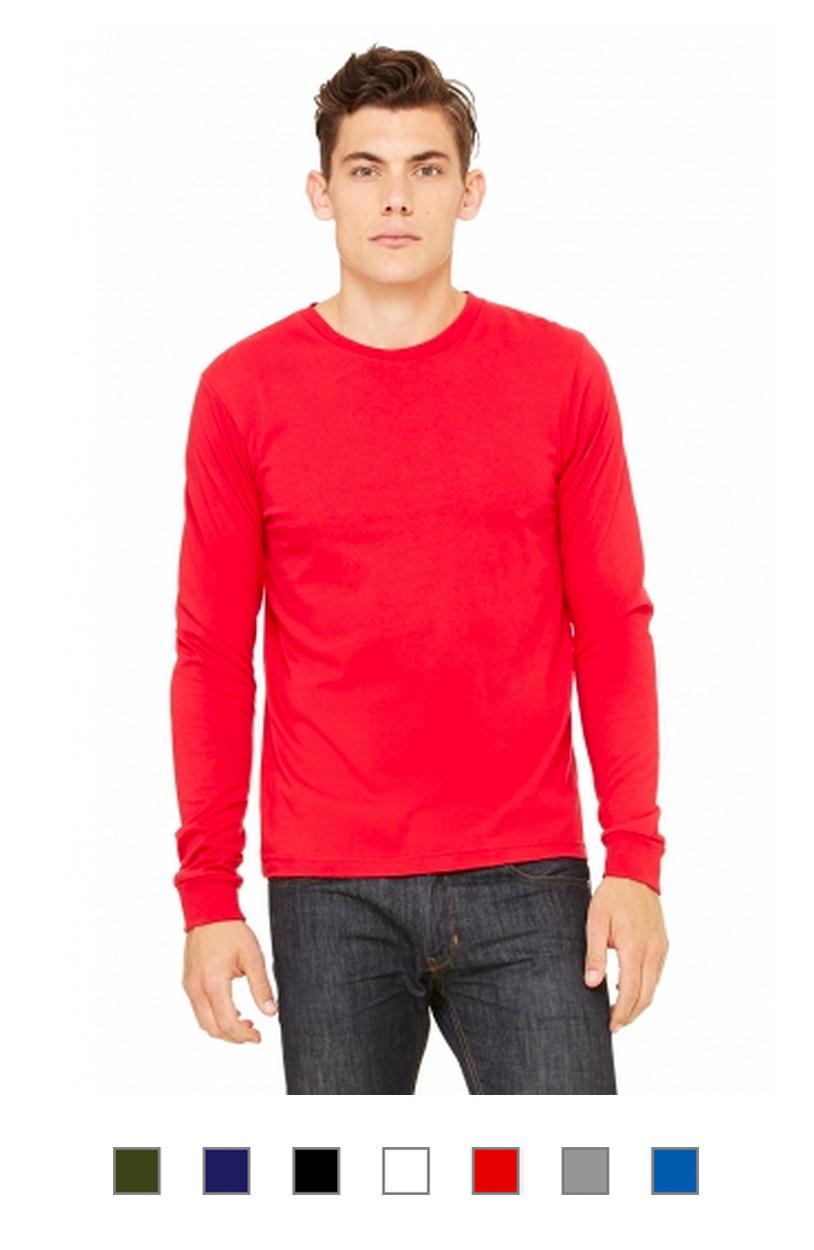 BC3501 -Long Sleeve Jersey Tee [$16.50]