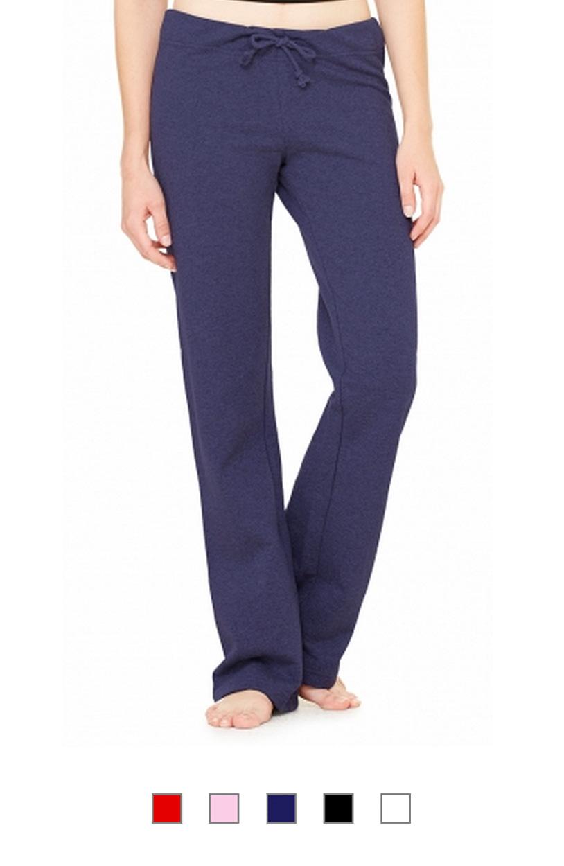 BC7017 -Ladies Straight Leg Fleece Sweatpants [$22.50]