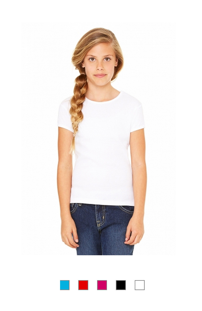 BC9001 -Girl Crew Neck T-Shirt [$15.25]