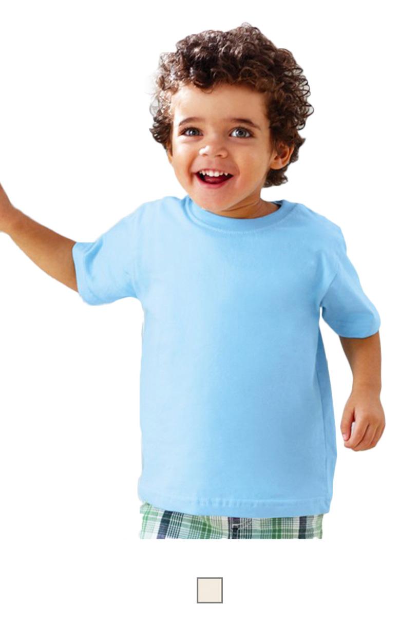 RS2001 -Toddler 5.5oz Organic Cotton T-Shirt [$15.75]