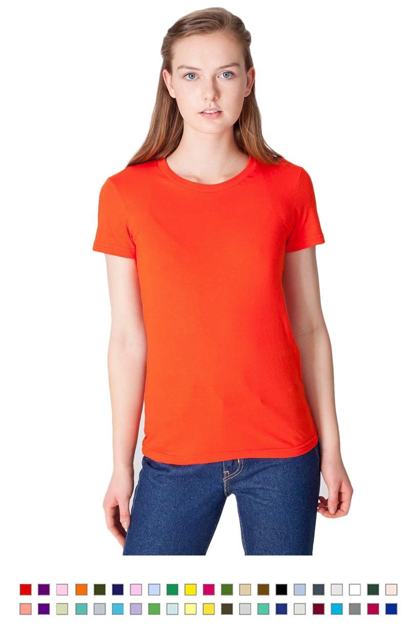 AA2102 -Fine Jersey Short Sleeve Womens T [$13.50]