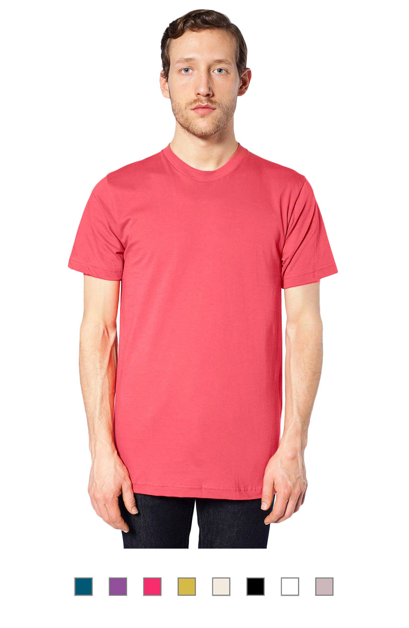 2001ORG -Organic Fine Jersey Short Sleeve T-Shirt [$17.75]