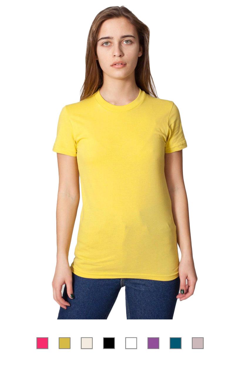 2102ORG -Organic Fine Jersey Short Sleeve Women's T [$16.00]