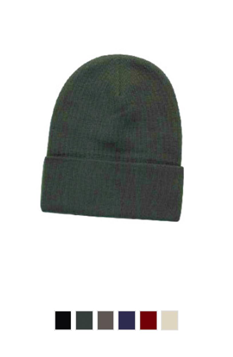 """Otto Cap 82-480 - Knit Beanie 12"""" [$14.00]"""