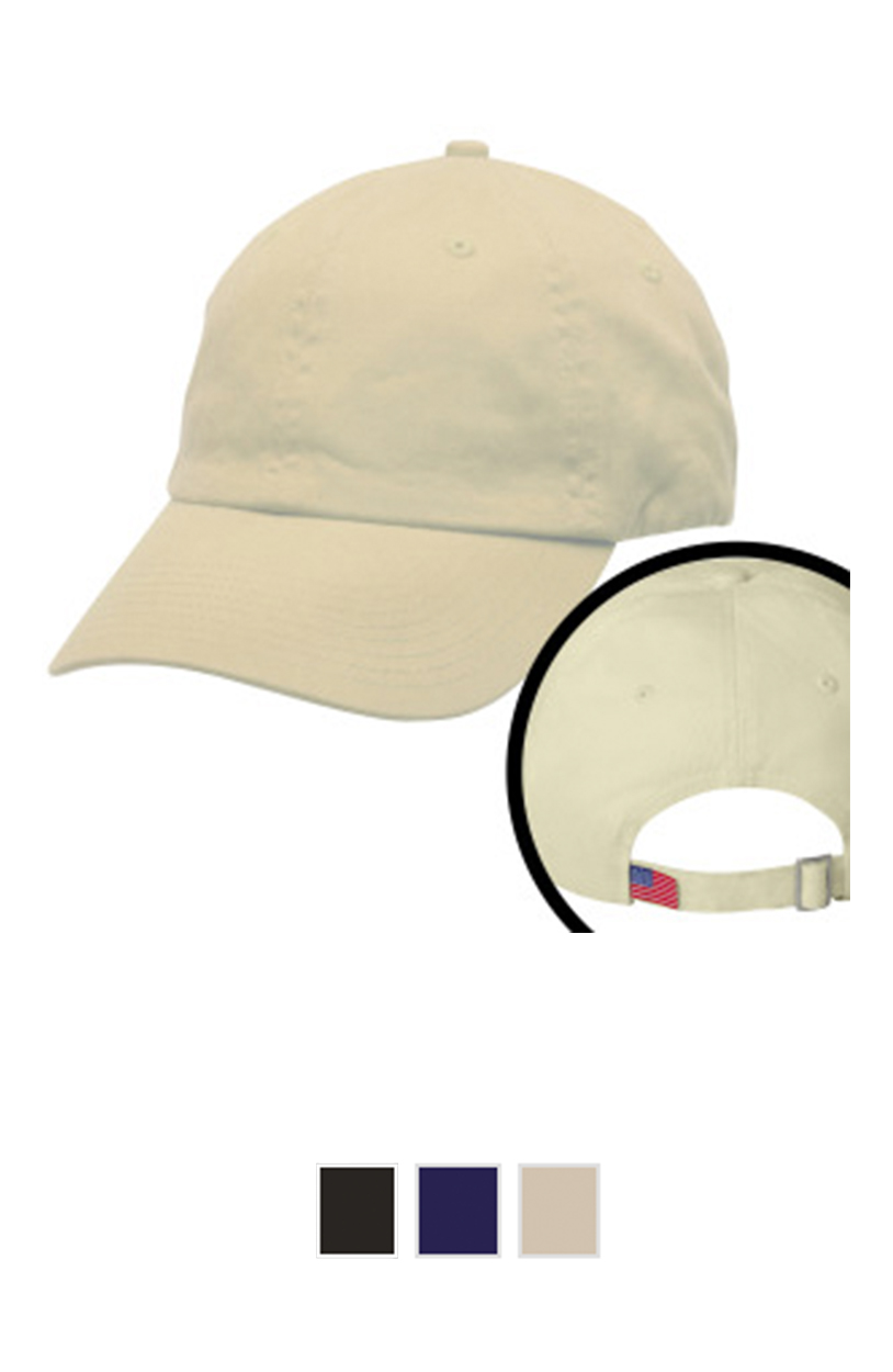 Bayside 3630 - Unstructured 6 Panel Made in the USA [$16.00]