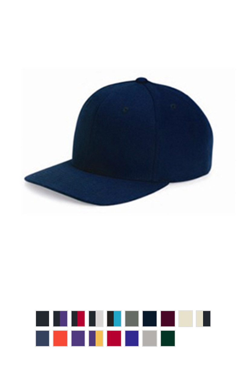 Yupoong 6089M Wool Blend Flat Bill Snapback Cap [$16.00]