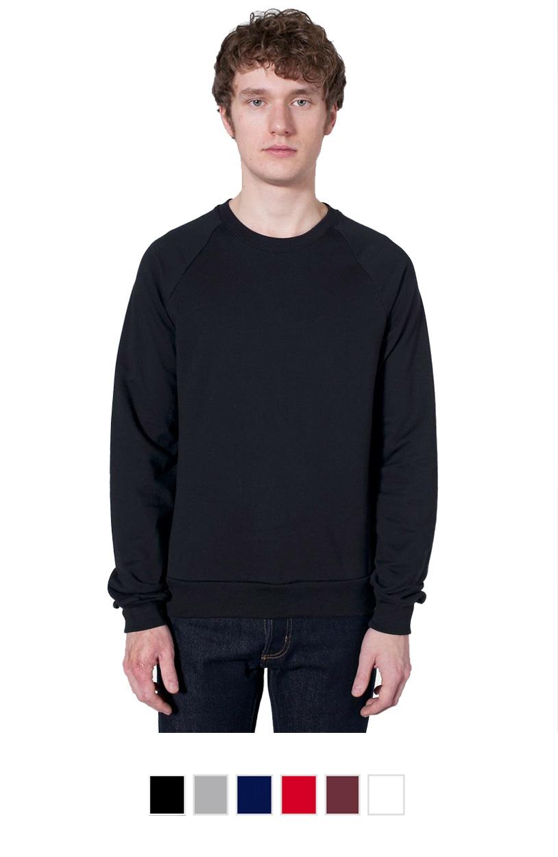 AA5454 -Unisex California Fleece Raglan [$27.50]