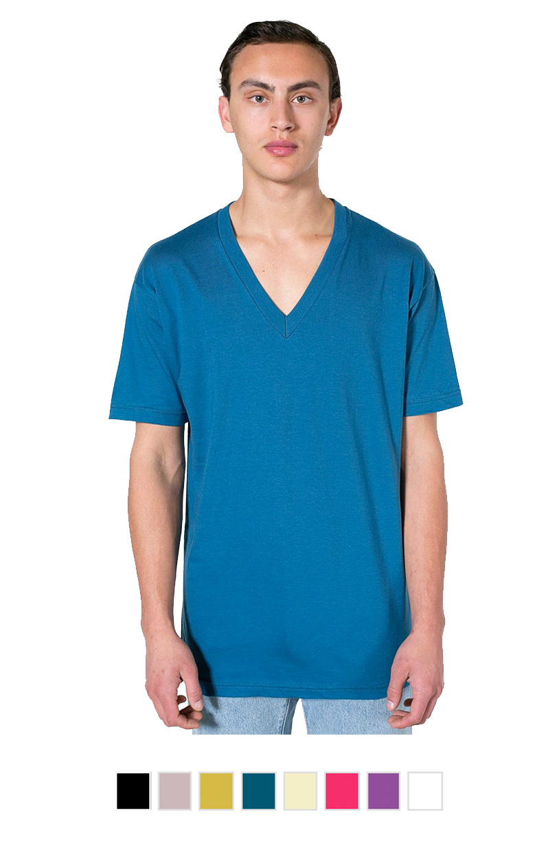 AA2456ORG - UnisexFine Jersey Short Sleeve V-Neck [$18.75]