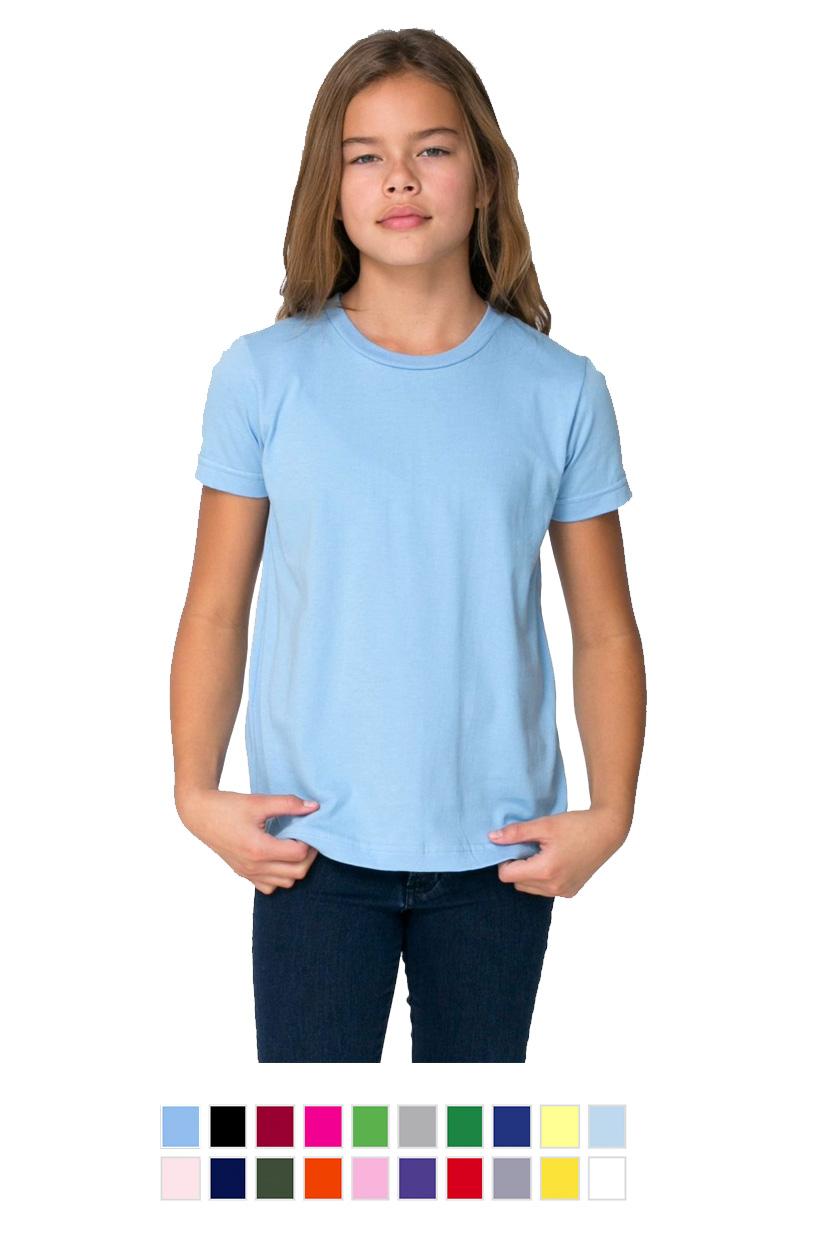AA2201 -Youth Fine Jersey Short Sleeve T-Shirt [$16.00]