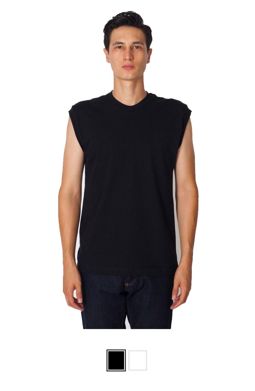 AA2065 -Fine Jersey Muscle T-Shirt [$15.00]