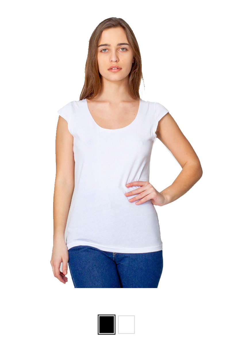 AA6322 -Sheer Jersey 2-Sided Top [$16.00]
