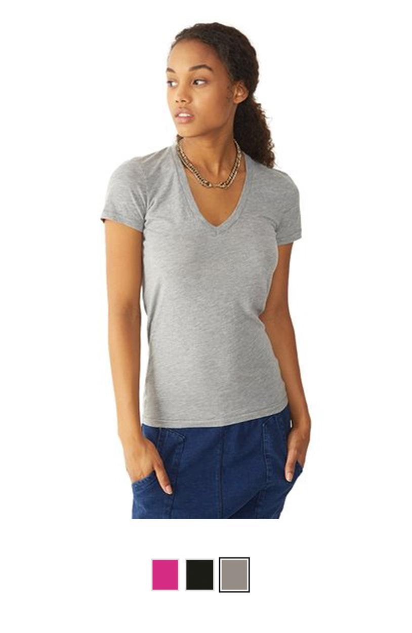 AA4032 -Ladies Karen V-Neck T-Shirt [$18.00]