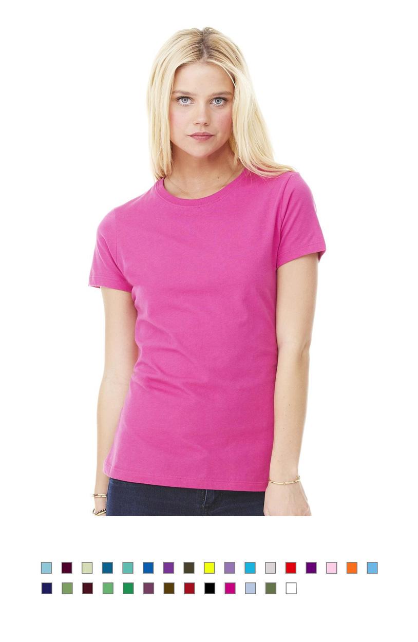 BC6000 -Ladies Jersey Knit T-Shirt [$13.50]