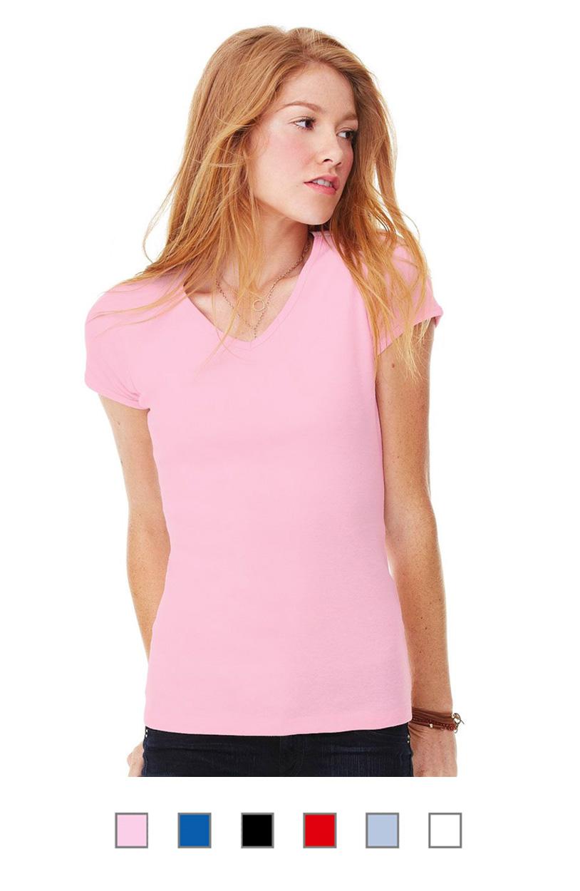 BC1005 -Baby Rib V-Neck T-Shirt [$14.00]