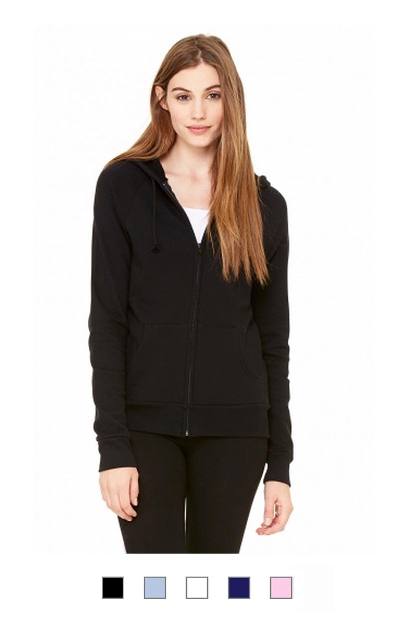 BC7007 -Full Zip Hooded Fleece Sweatshirt [$27.50]
