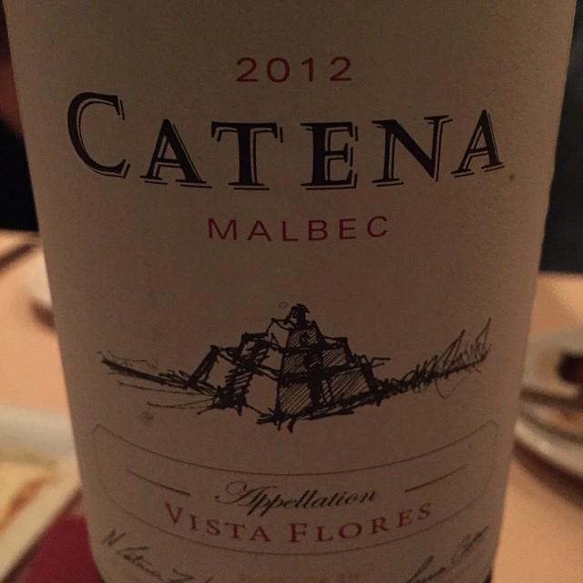 I've got time if you've got Malbec. #Malbec #Catena