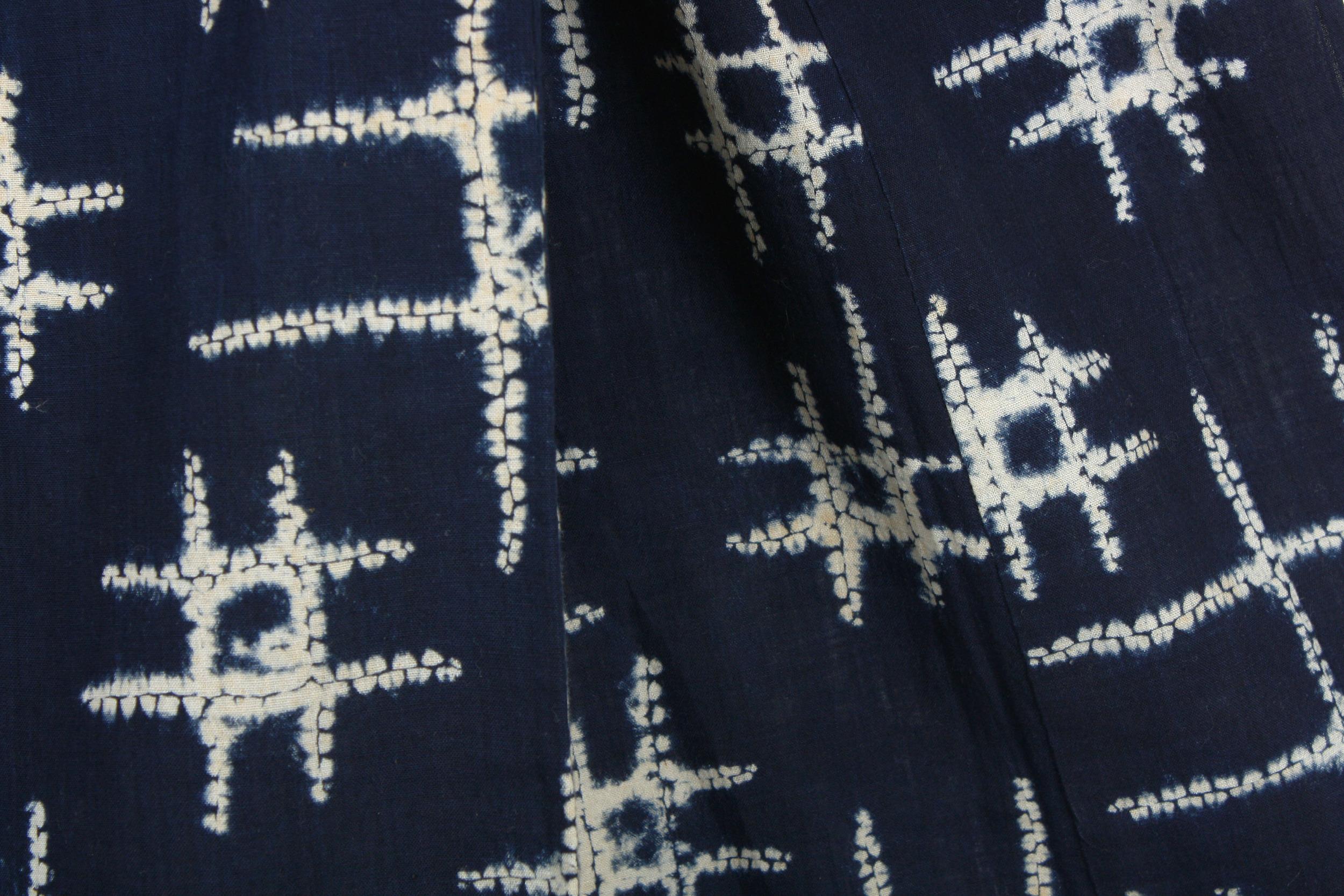 Shibori Kimono - Well Crib Motif