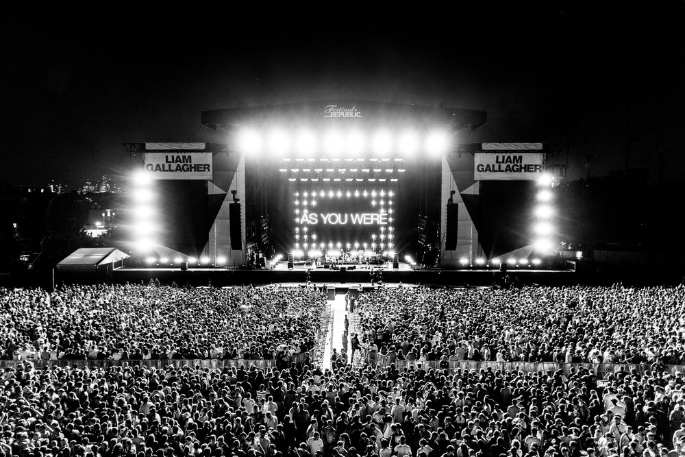 Liam Gallagher - Finsbury Park, London. June 2018. - A selection of my work from Liam Gallagher's sold out show at Finsbury Park, London.Photography commissioned by Festival Republic - Official show photographer.