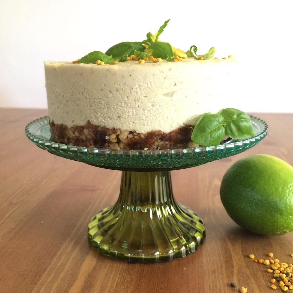citrus and herb cheesecake